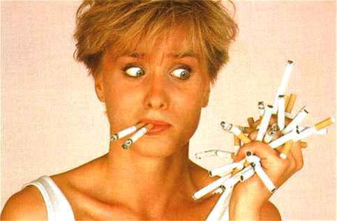 Des années on nettoie les poumons après a cessé de fumer