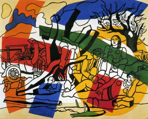 F. Léger, La partie de campagne, 1954