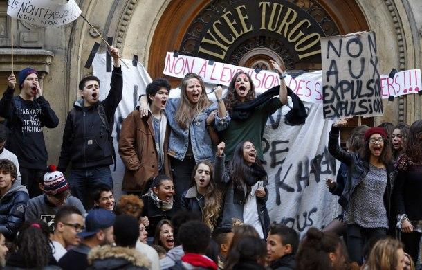philo jeunesse blocage lycée