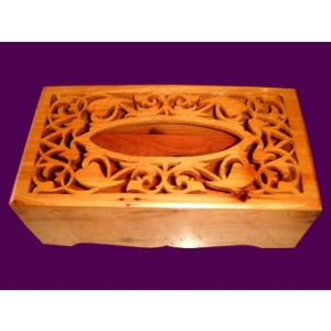 Boîte en bois de cèdre du Maroc
